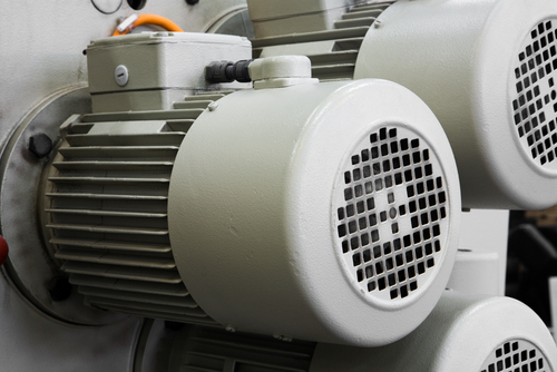 Motors for a hydraulic power unit for Used industrial electric motors