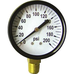 Analog Pressure Gauges 112