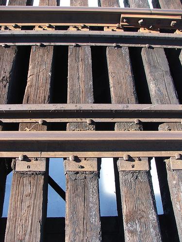 rail wood