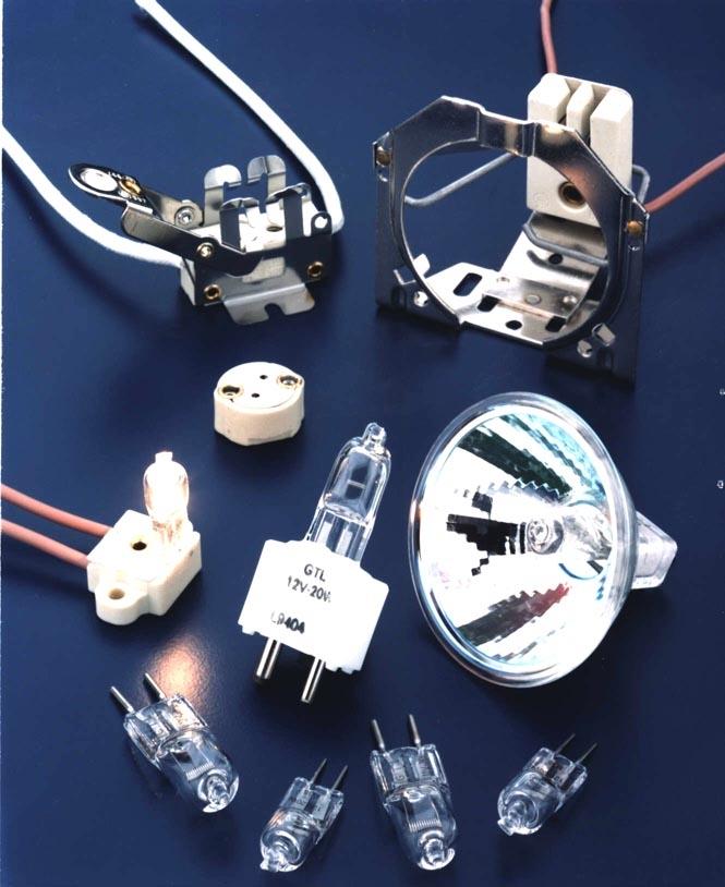 Quartz Halogen Lamps are non-UV blocking., Gilway Technical Lamp