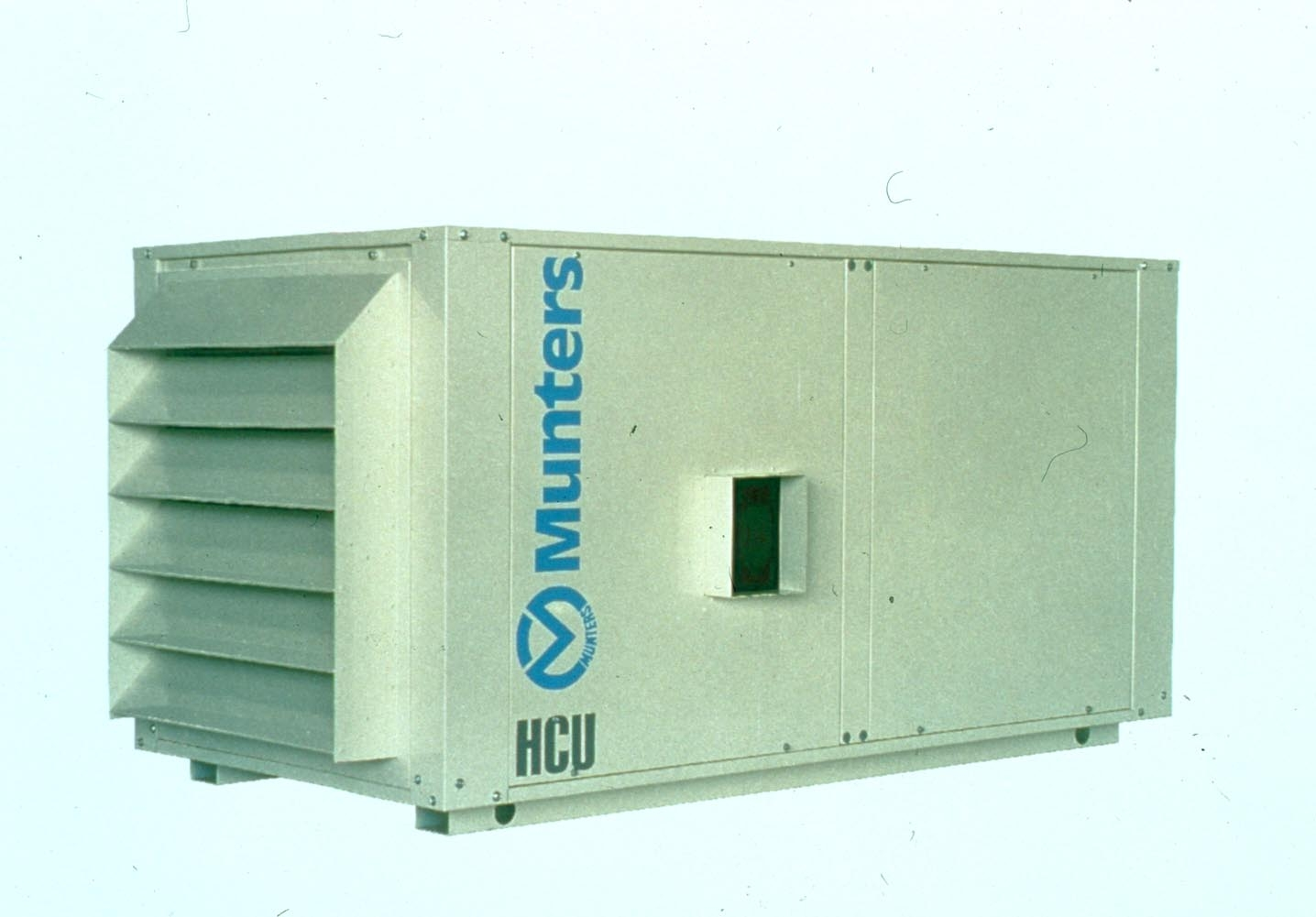 Dehumidifier controls humidity independently of temperature. #2885A3
