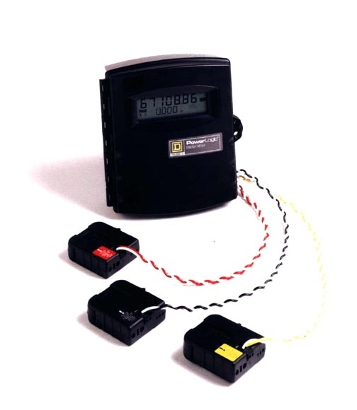 Power Demand Meter : Powerlogic v energy meter saves money extends