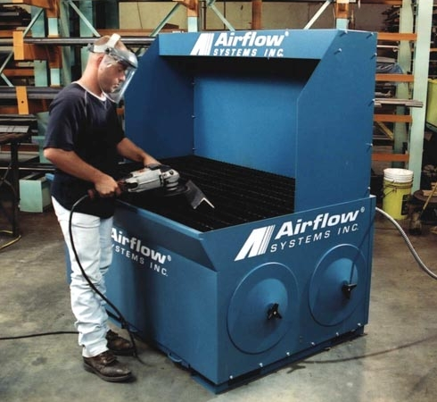 New Downdraft Table For Grinding Sanding Cutting Welding