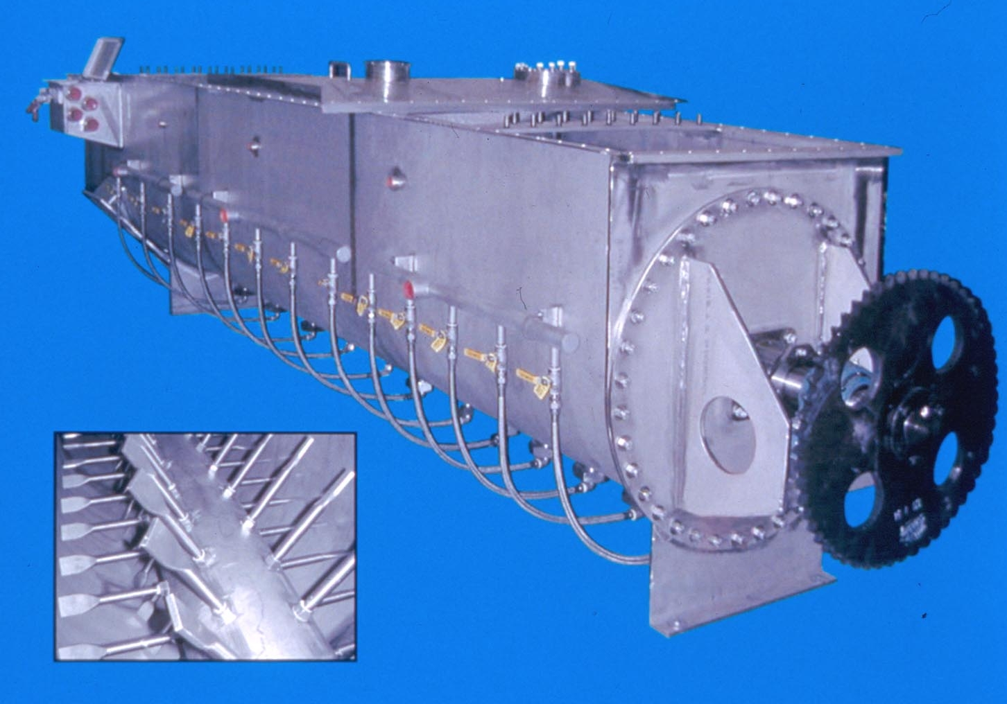 Parallel Crystallizer is suited for pharmaceutical industry. #0A66C1