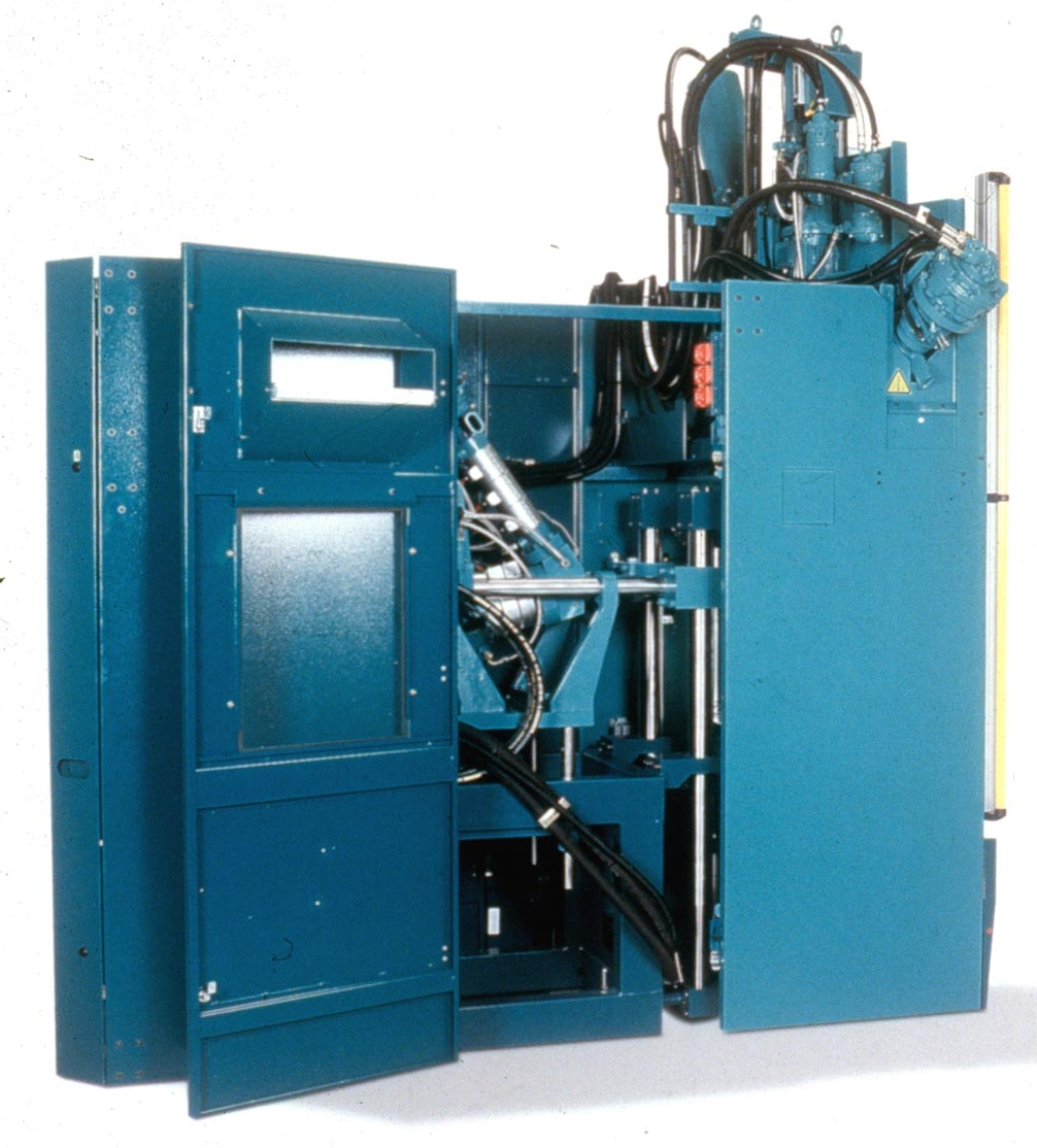 Rep Offers Dual Injection Molding Presses