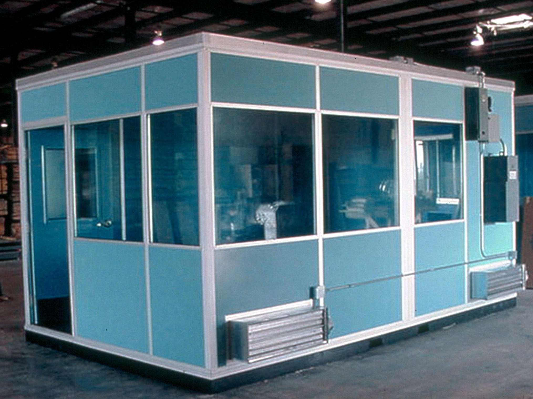 Portable Smoking Shelters : Modular smoking shelters available from porta king