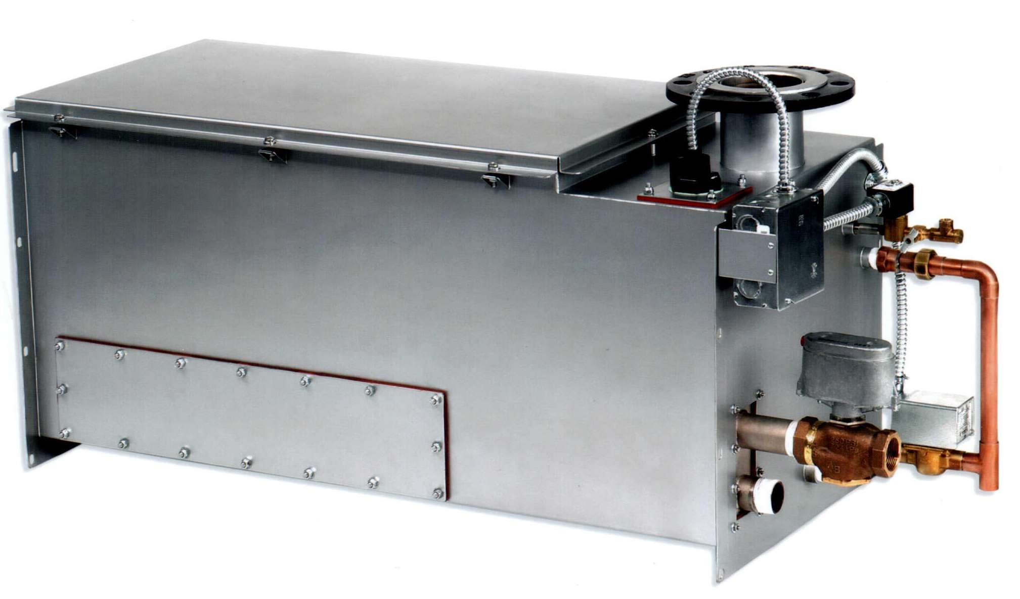 humidifier offers improved maintenance access dri steem humidifier co  #6E3823