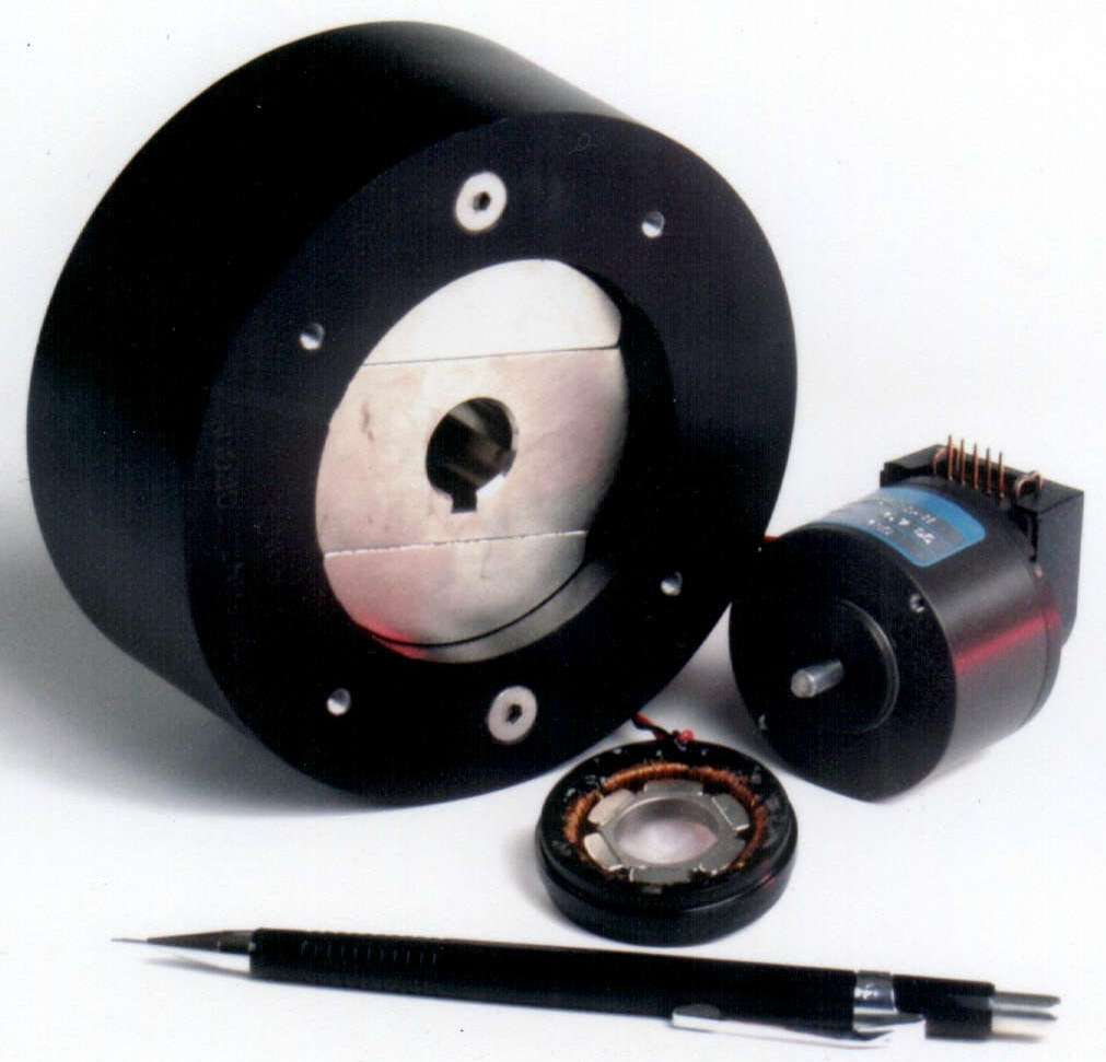 Mechanical power transmission for Limited angle torque motor