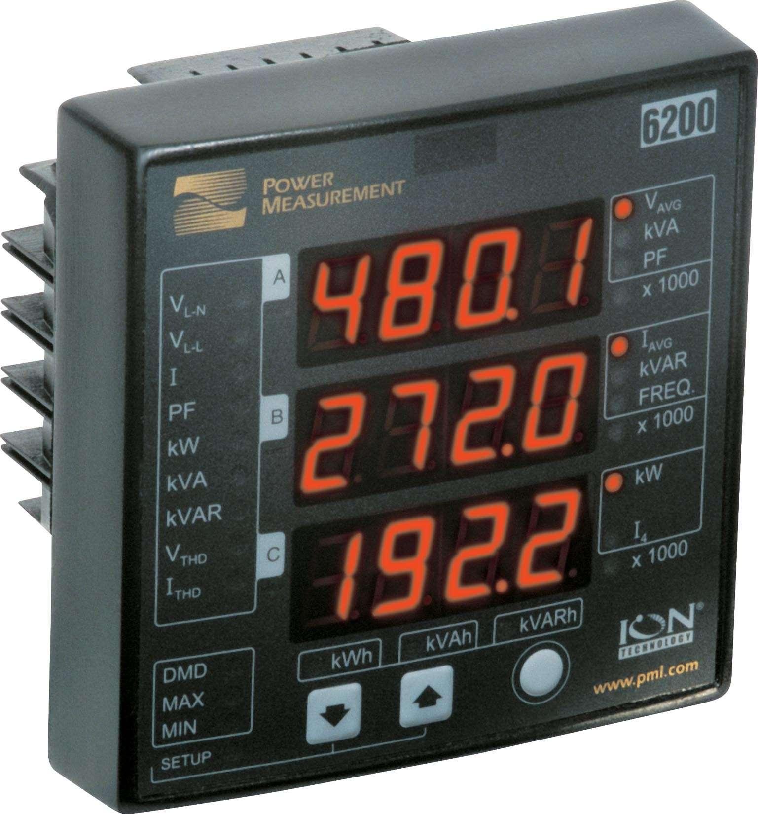 Power Demand Meter : High voltage power demand meter