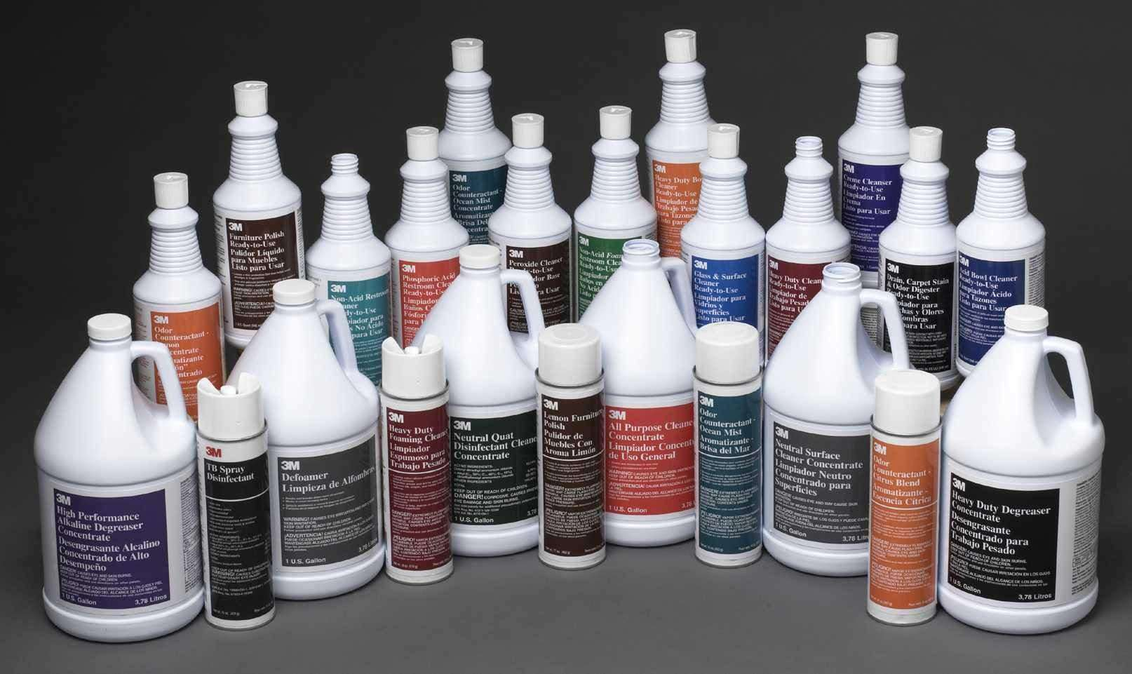 3m Introduces 23 New Commercial Cleaning Products