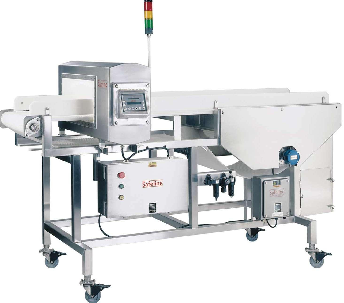 Safeline 39 s powerphase metal detectors for fresh cut - Estructuras de metal ...