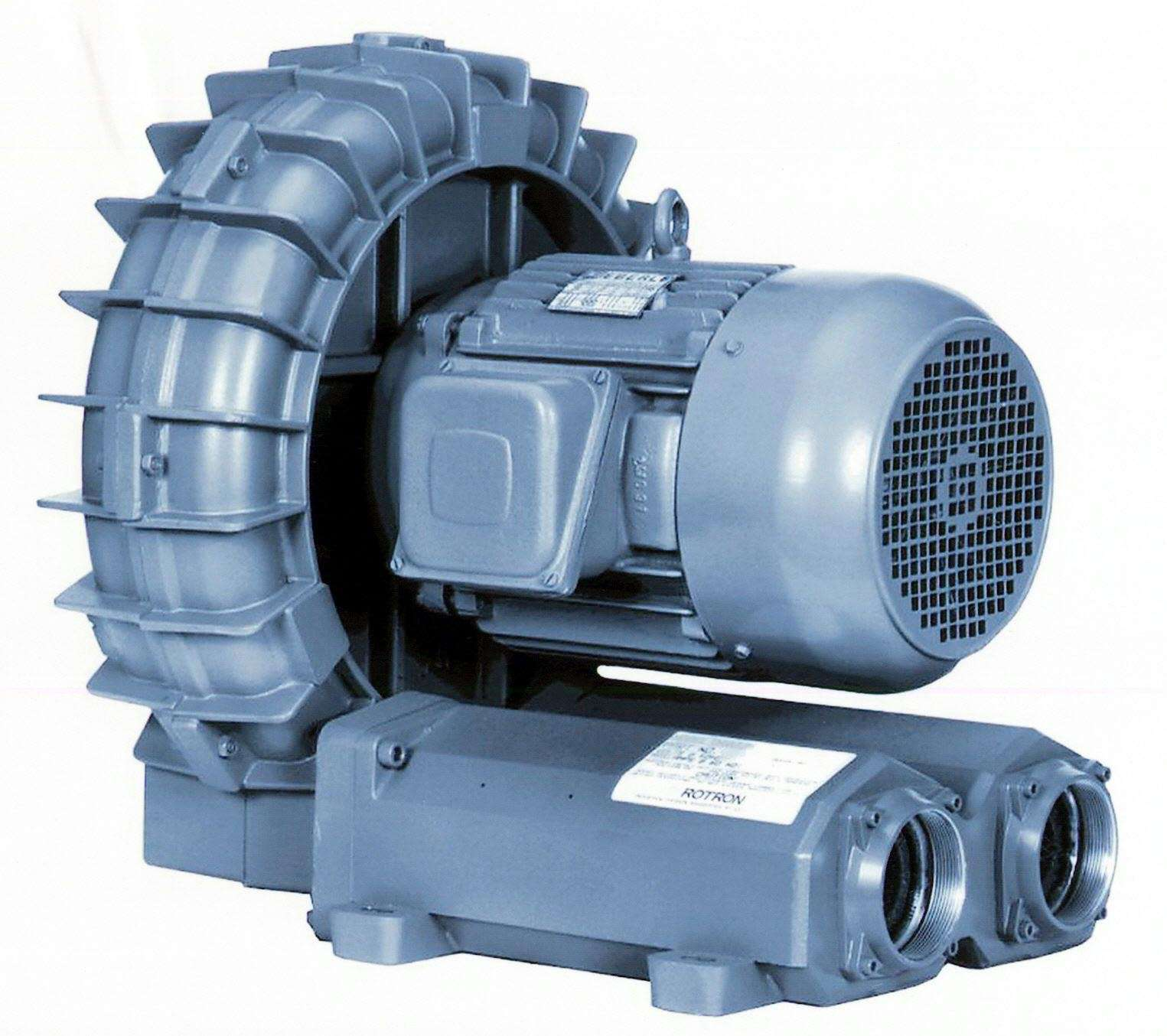 Industrial Fans And Blowers : Ametek rotron regenerative blowers feature chem tough tm