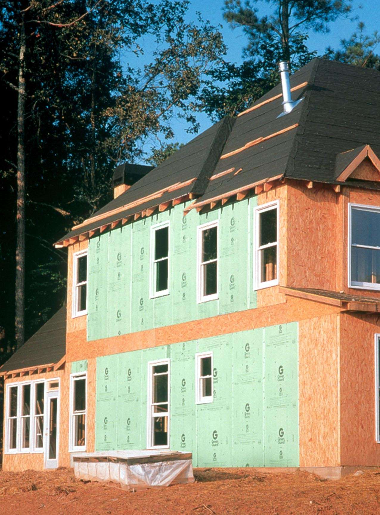 Greenguard Plygood Ultra Sheathing Provides Superior Thermal And Moisture Performance
