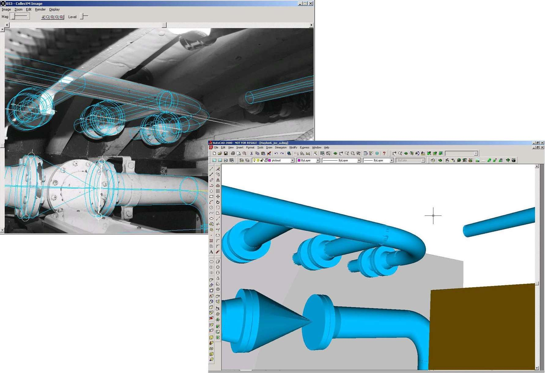 Automatically create 3d cad models and accurate Cad models