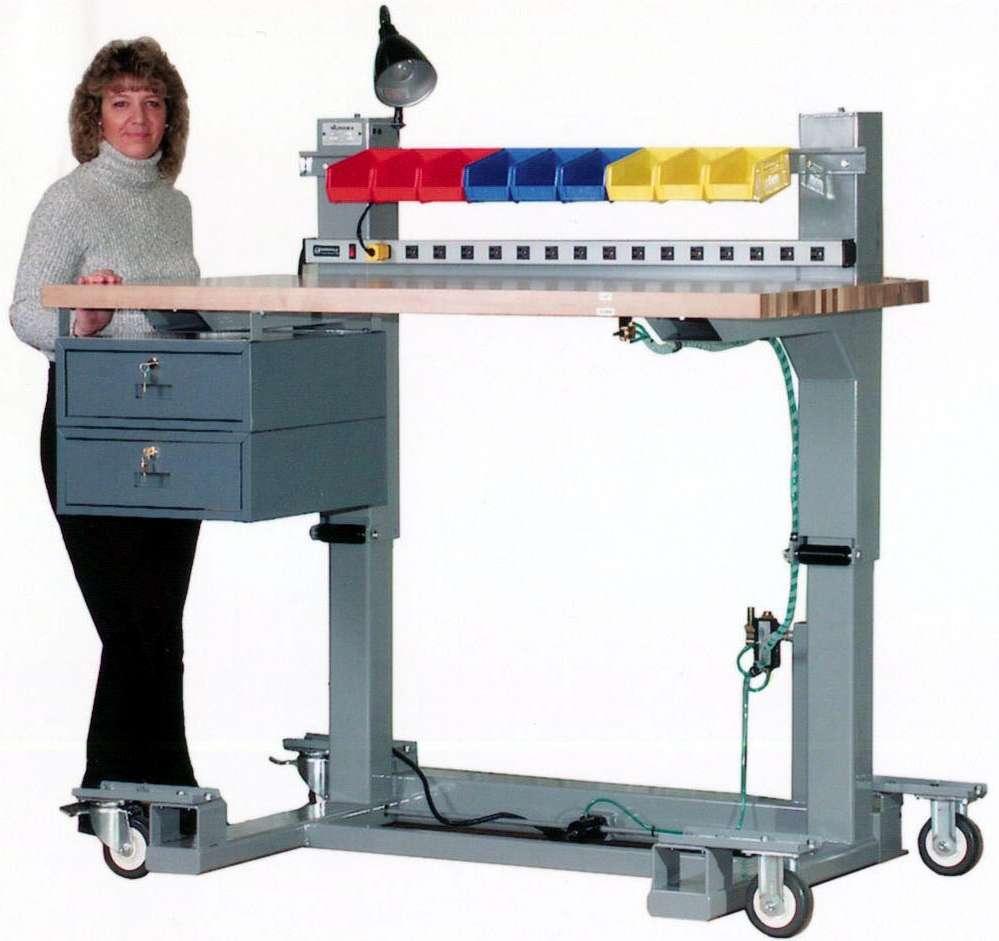 adjustable workbench