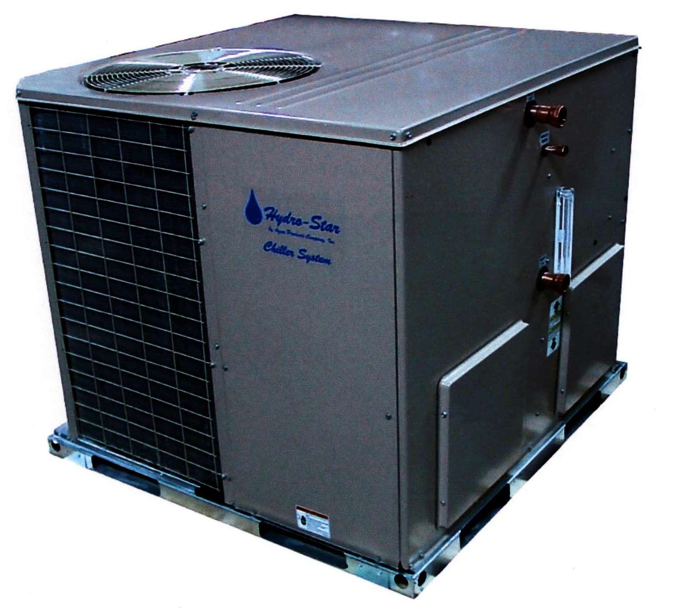 Package Chillers are offered in sizes from 1.5 5 tons. #3A6C91