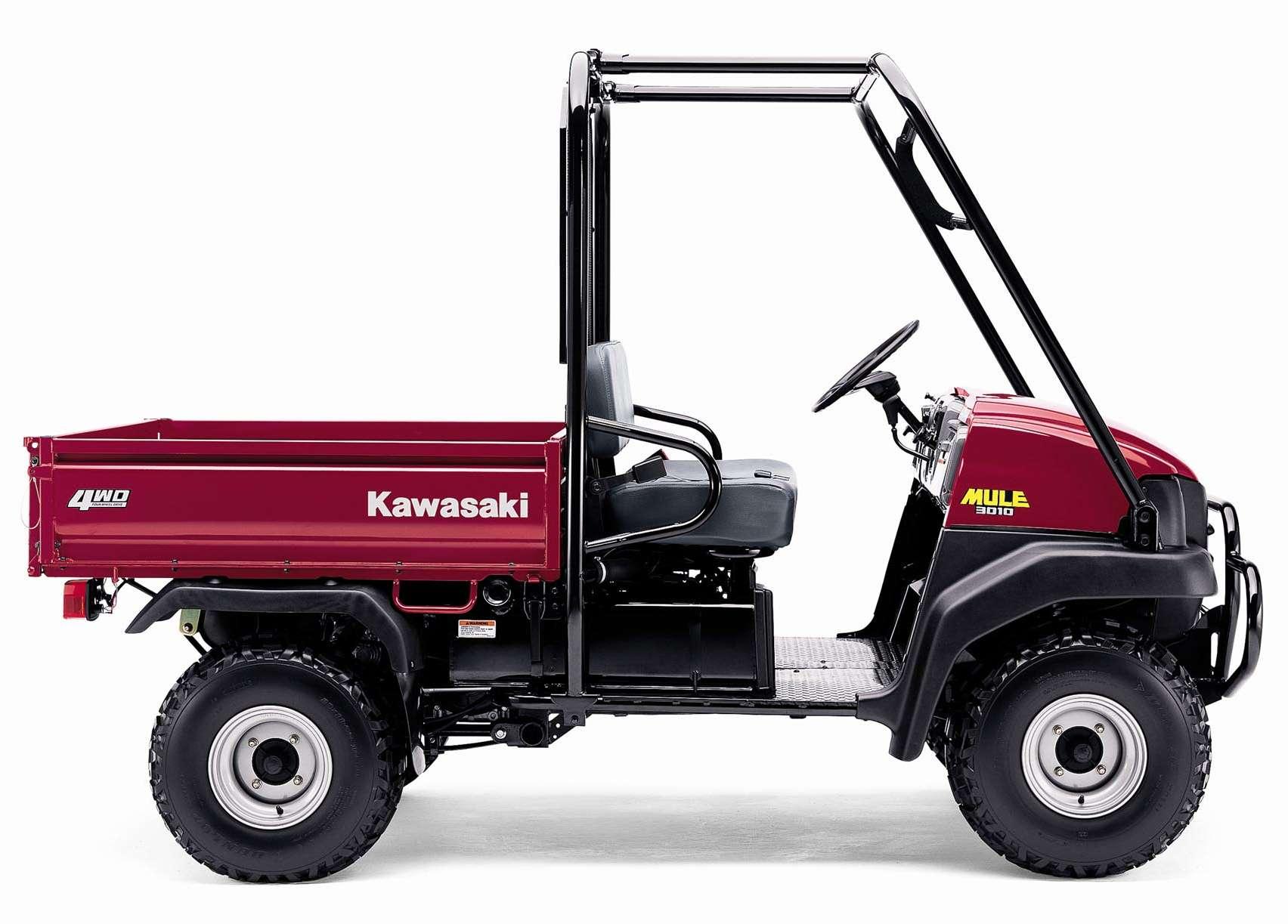 Kawasaki Mule Tm 3010 Diesel 4x4 Off Highway Utility Vechicle