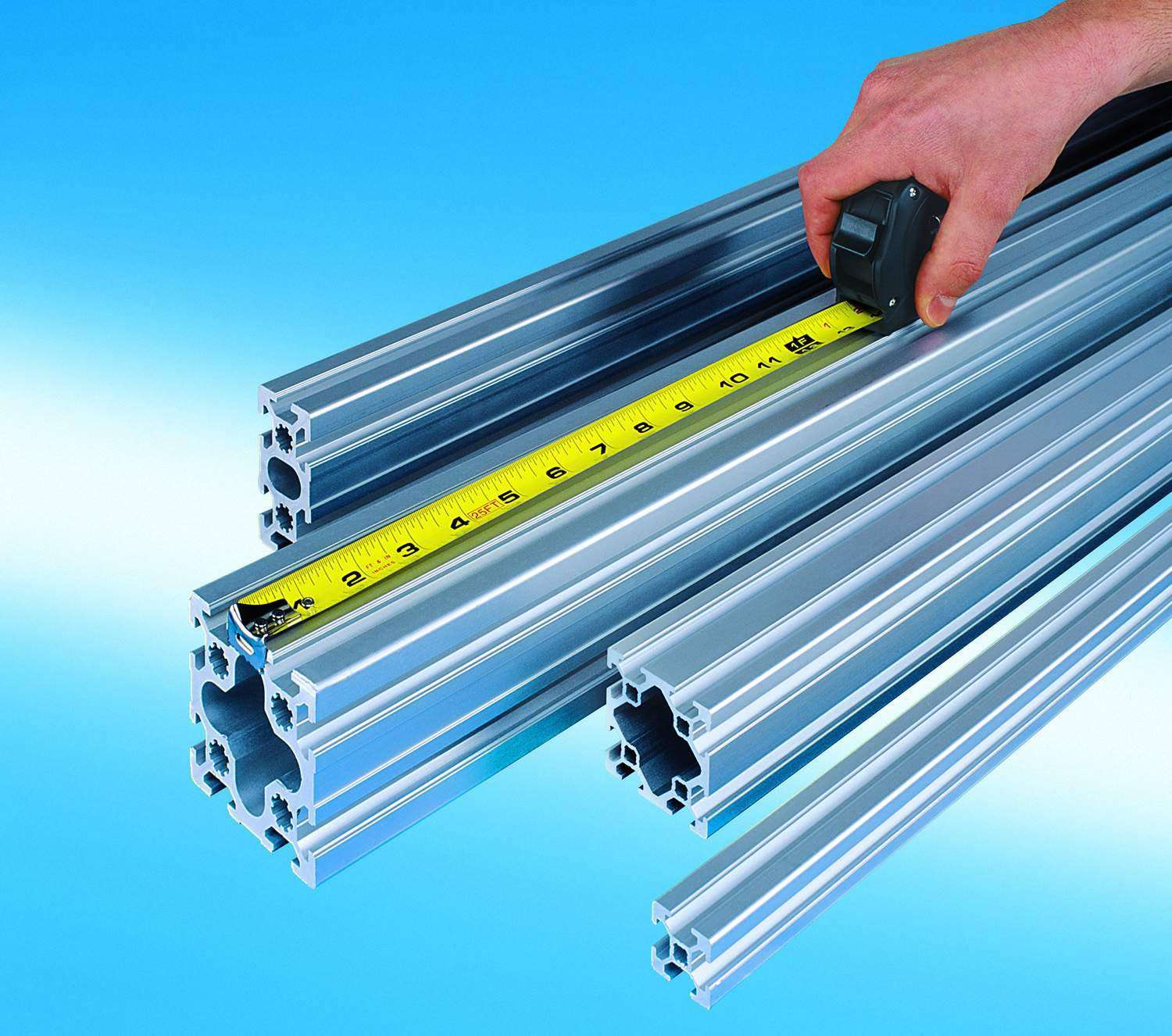 New Inch Series Aluminum Profiles From Bosch Rexroth