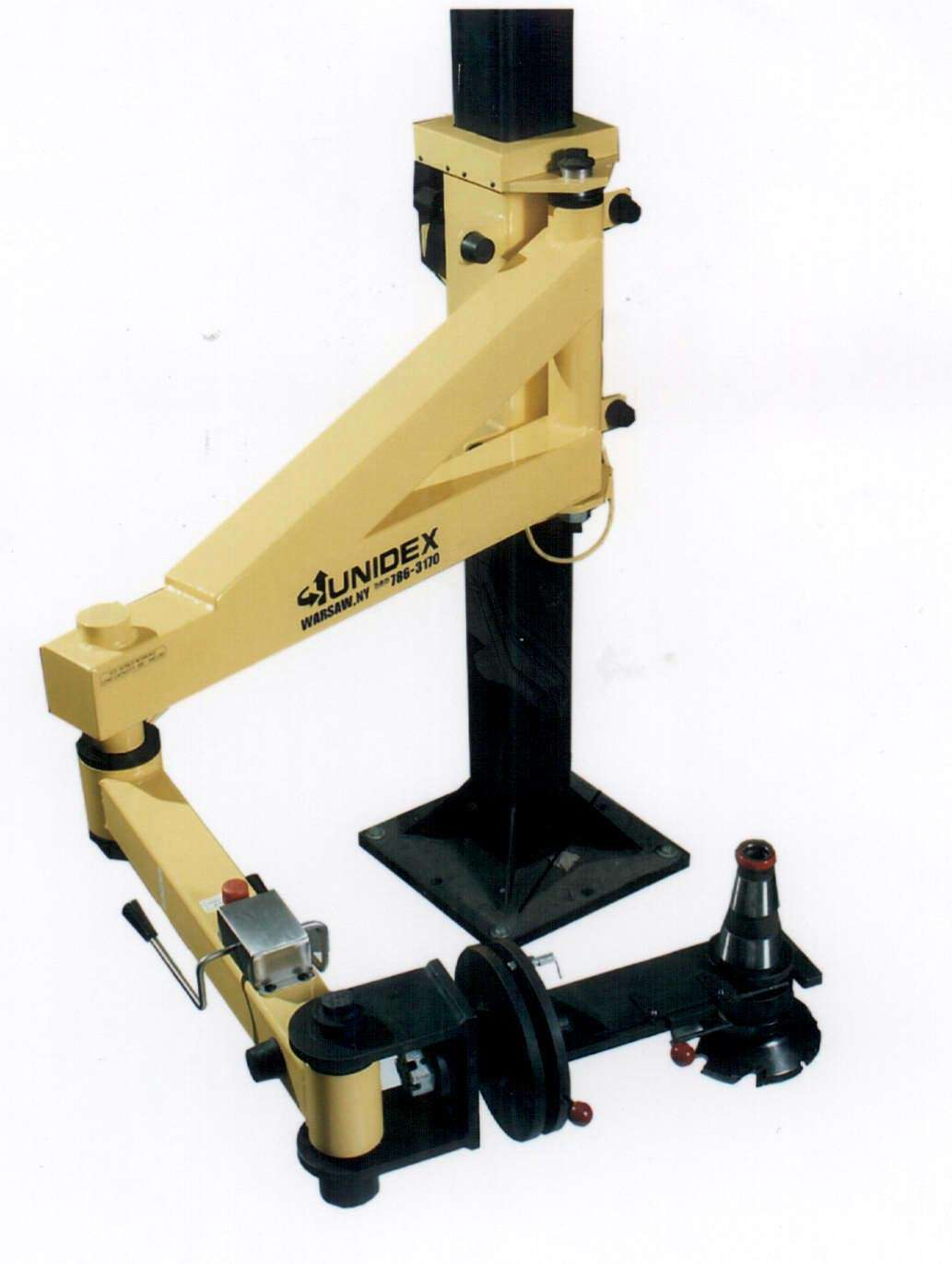 Articulating Arm Hoist : Unidex introduces new model ecl series electric column
