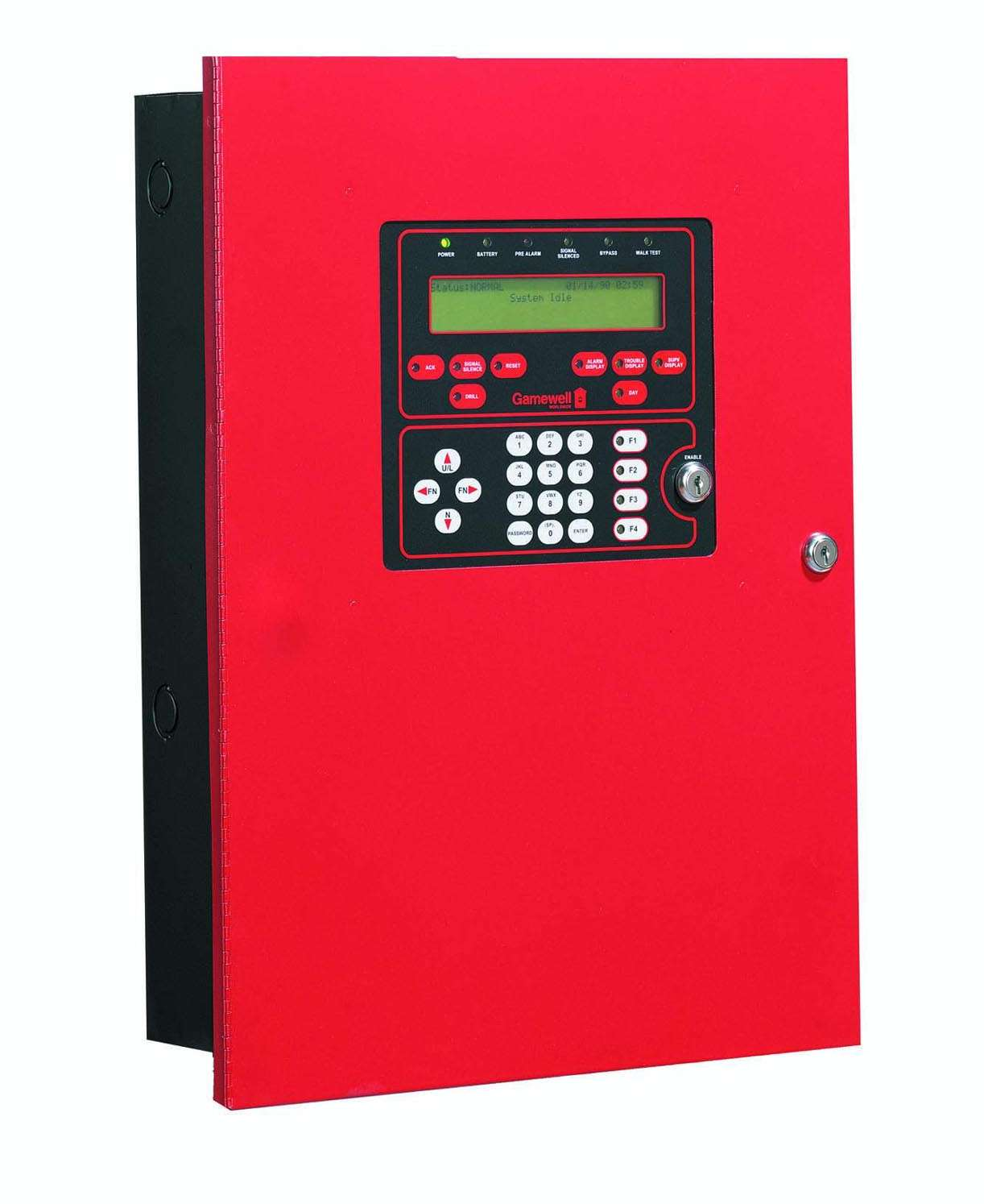 Fire Alarm Control Panel Suits Small Med Sized Installations 27329 on type a fire alarm wiring