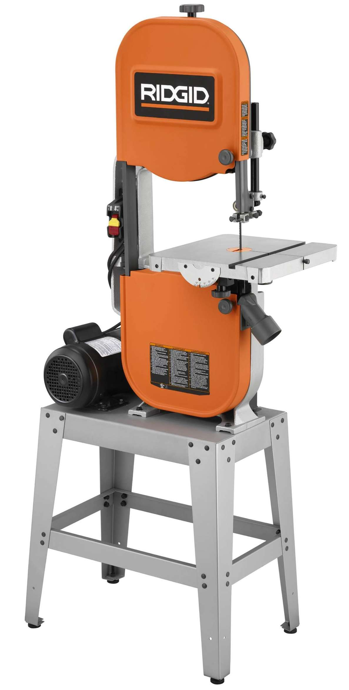 Ridgid 14 Band Saw Has Ability To Cut Stock Up To Six Inches Thick