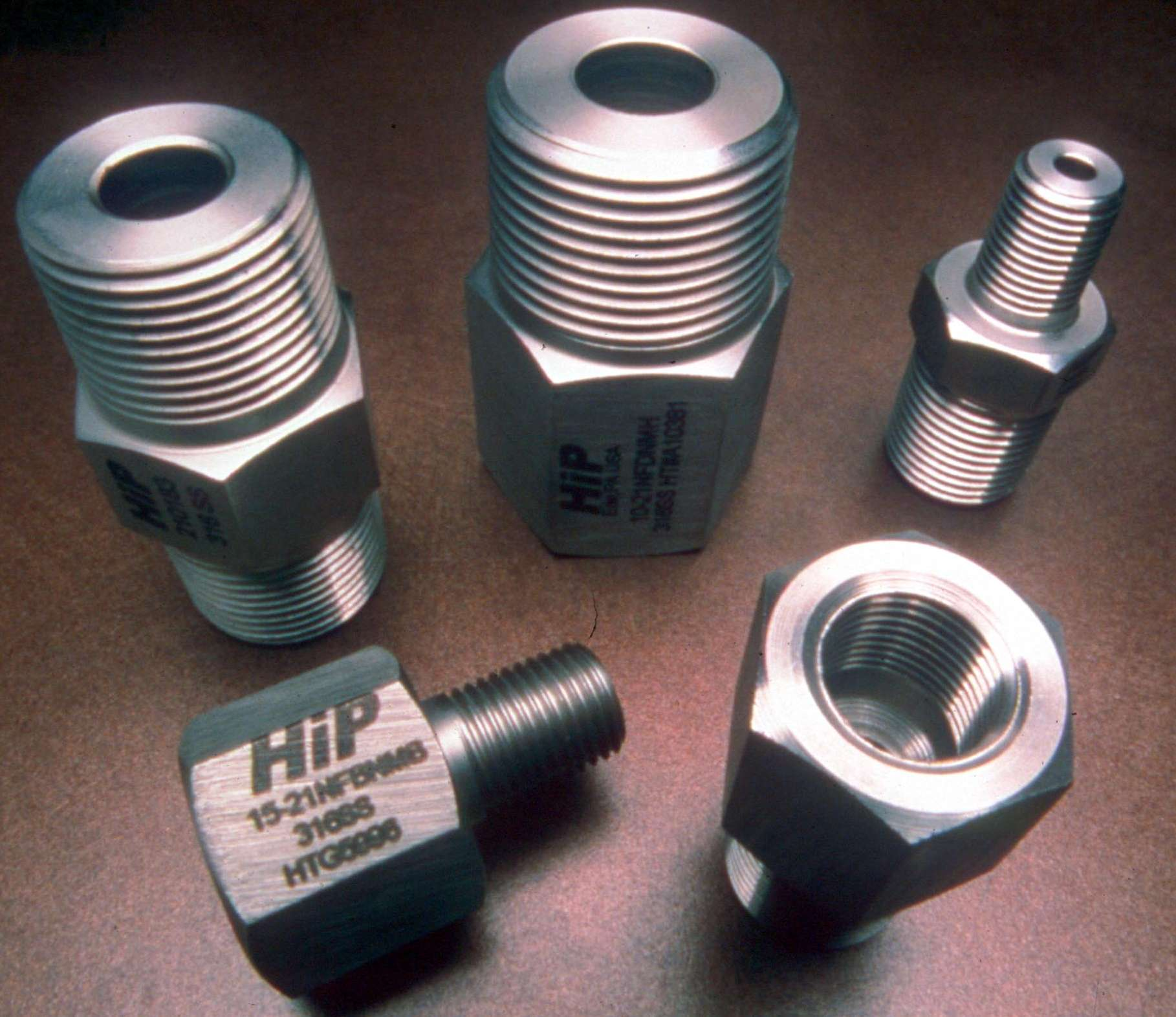 New high pressure npt fittings available from hip