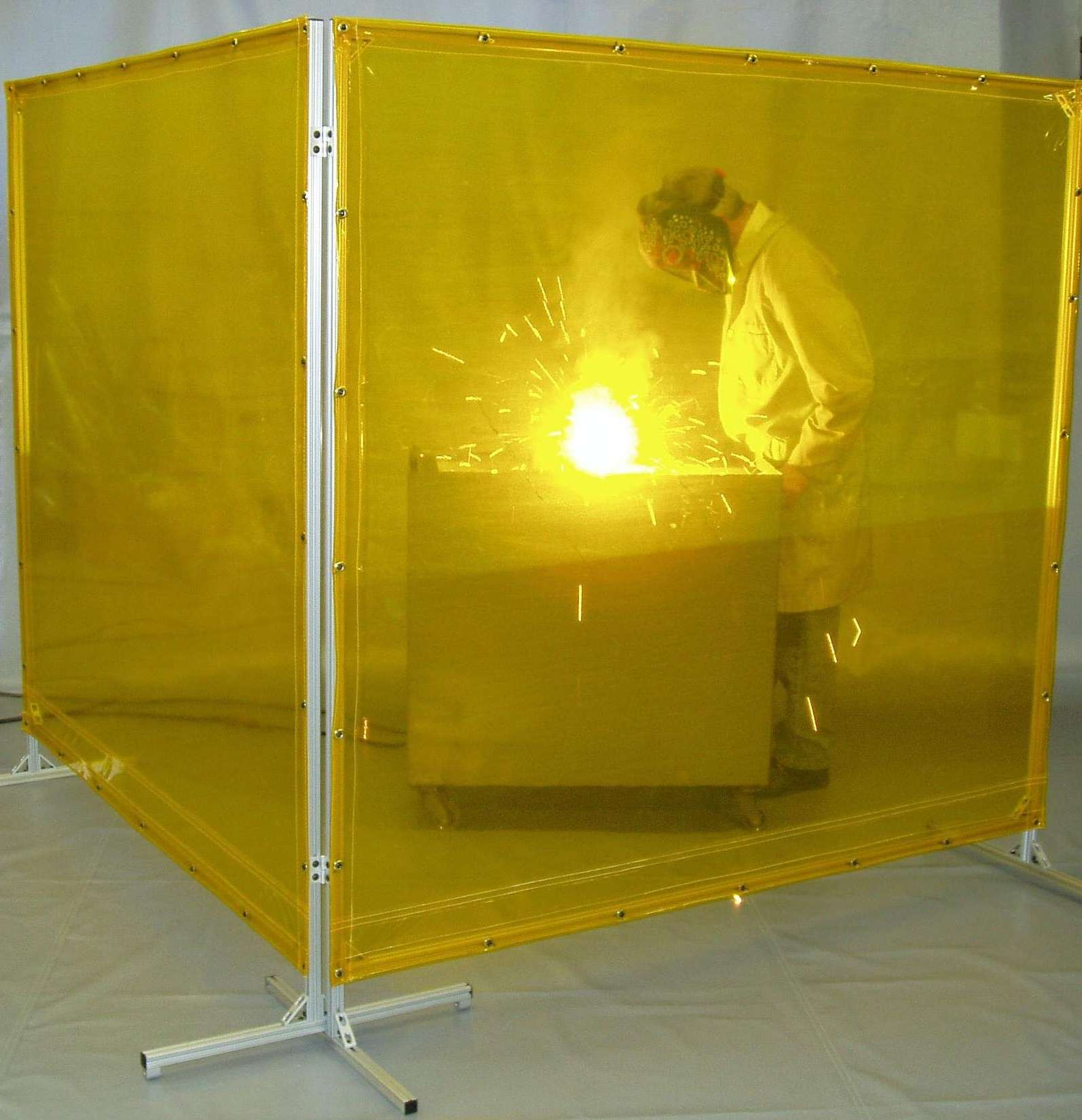 Screens Brings Portable Protection Where Welding Happens