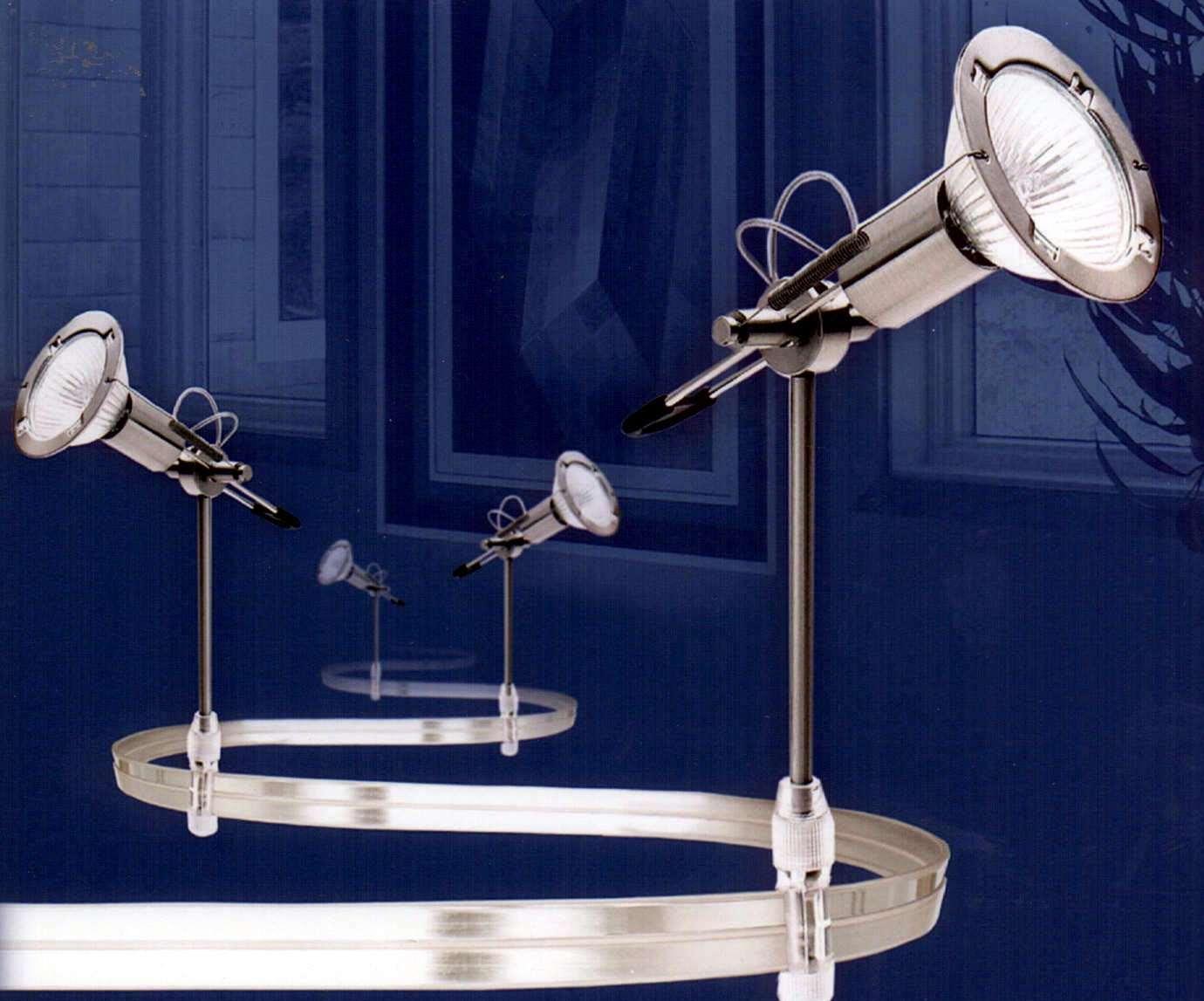 light kit provides flexible track lighting. Black Bedroom Furniture Sets. Home Design Ideas