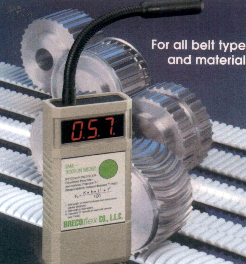 Belt Tension Meter : Sm universal tension meter accurate timing belt tensioning