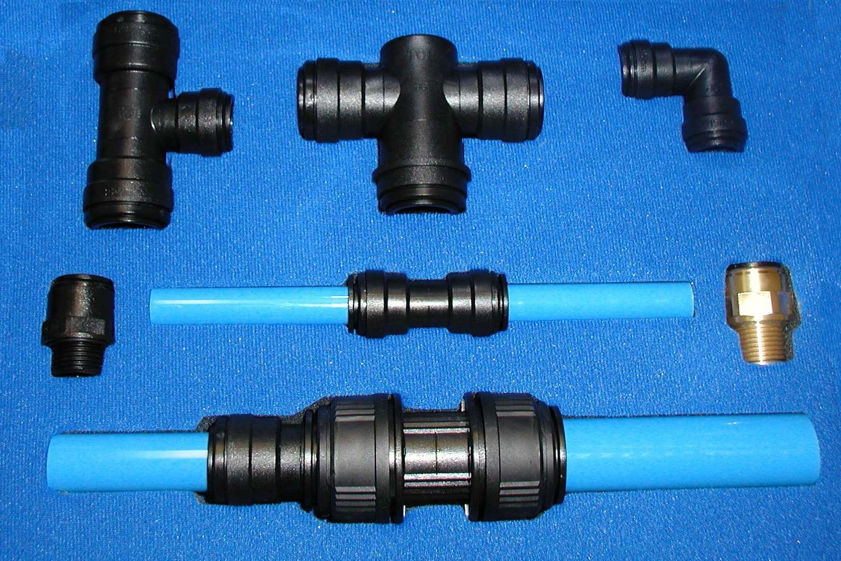 New line of push fit fittings for compressed air systems