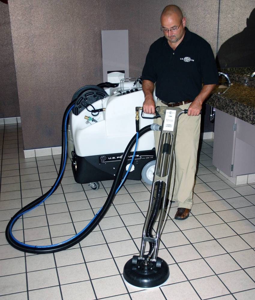 The Carpet Extractor That Also Cleans Tile And Grout