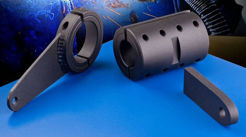 Weldable shaft collars now include couplings for custom