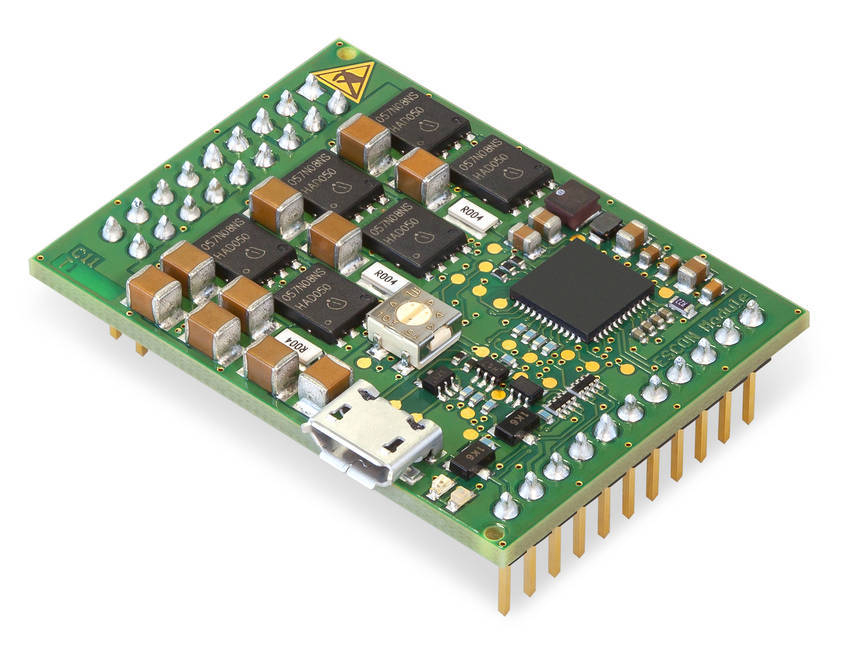 New miniature dc servo motor controller the escon 50 5 for Dc motor servo controller