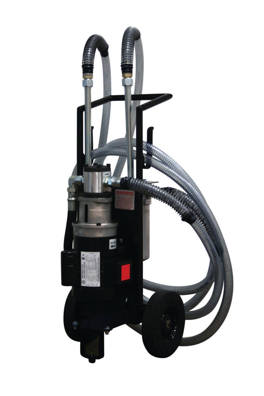 Schroeder industries introduces mobile filtration system for Industrie mobel