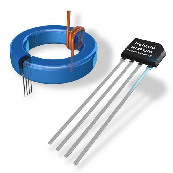 Enkelt hall sensor