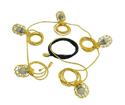 Temporary Construction LED String Lights Released By Larson Electronics