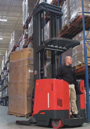 New Raymond Reach Truck Optimizes Productivity Efficiency