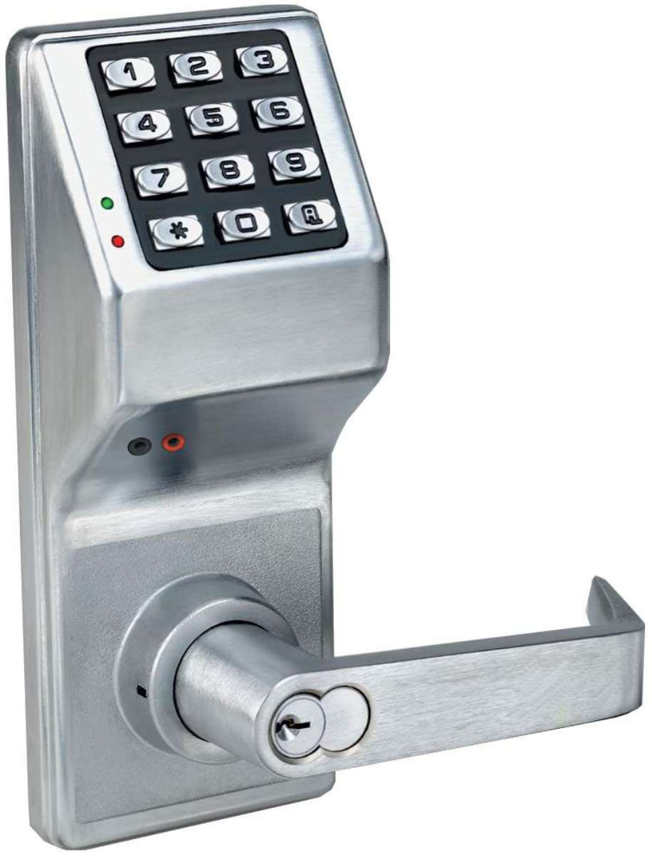 new alarm lock trilogy dl4100 electronic digital privacy lock