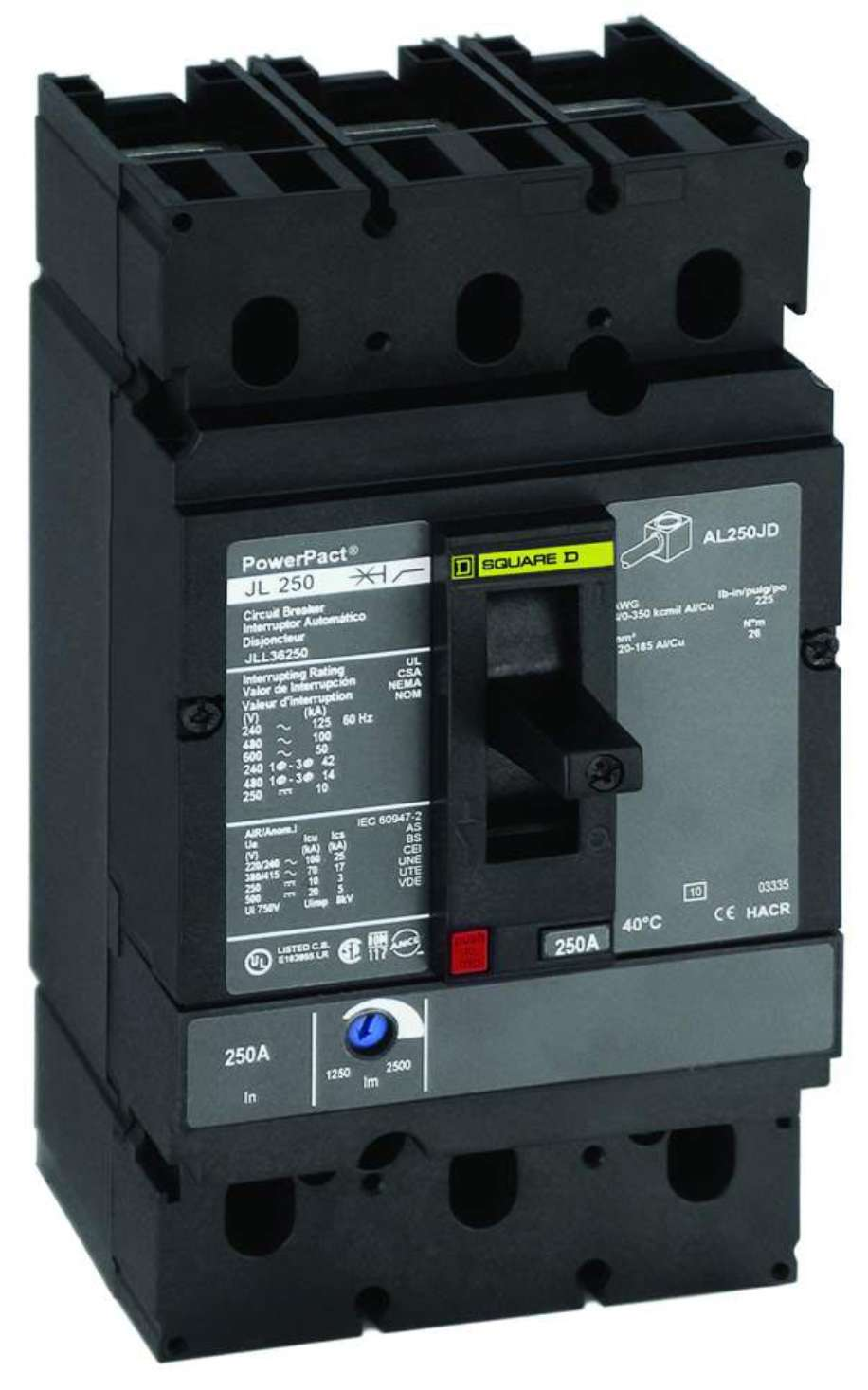 Circuit Breakers standardize equipment designs., Square D Co.