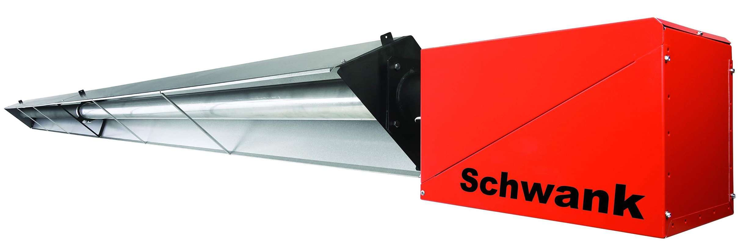 Schwank S New Jazzed Up Infrared Tube Heater Has Easy