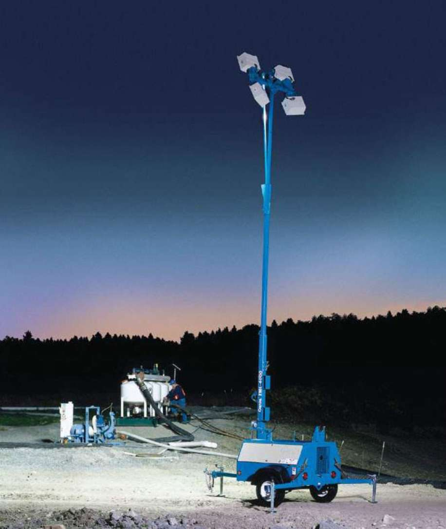 Genie® Trailer-Mounted Light Towers Shed Light On Your