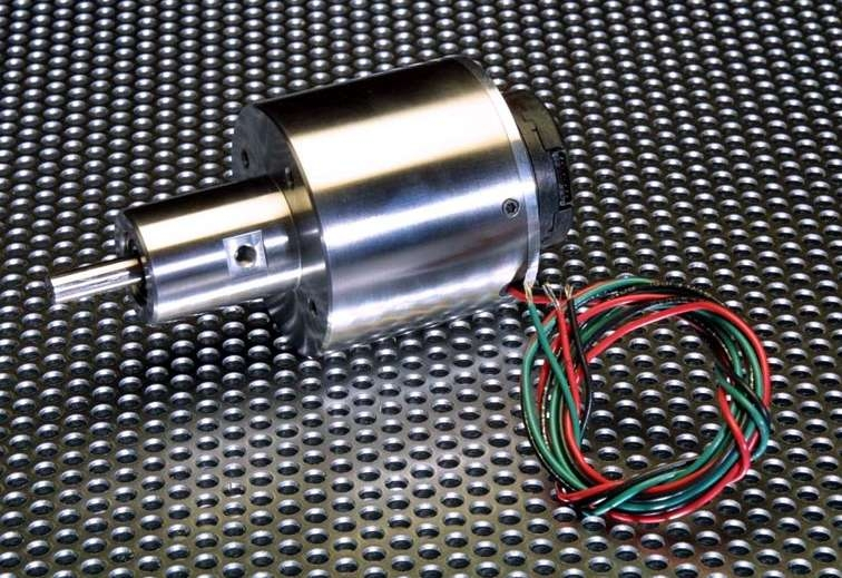New ultra precise hollow shaft motorized spindle for Large brushless dc motor