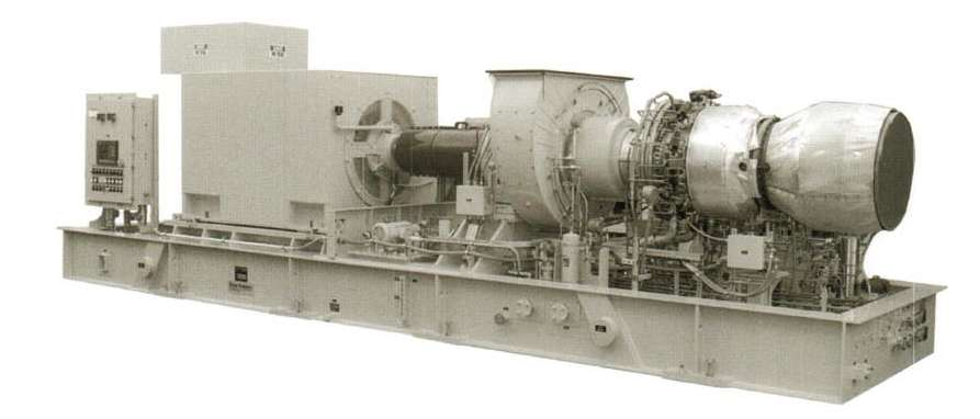 GAS LM2500 TURBINE « TURBINE PHOTOS
