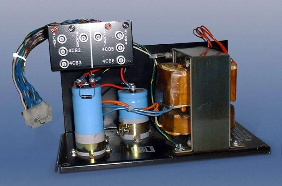 Ferroresonant Transformer provides stable output of = 3%.