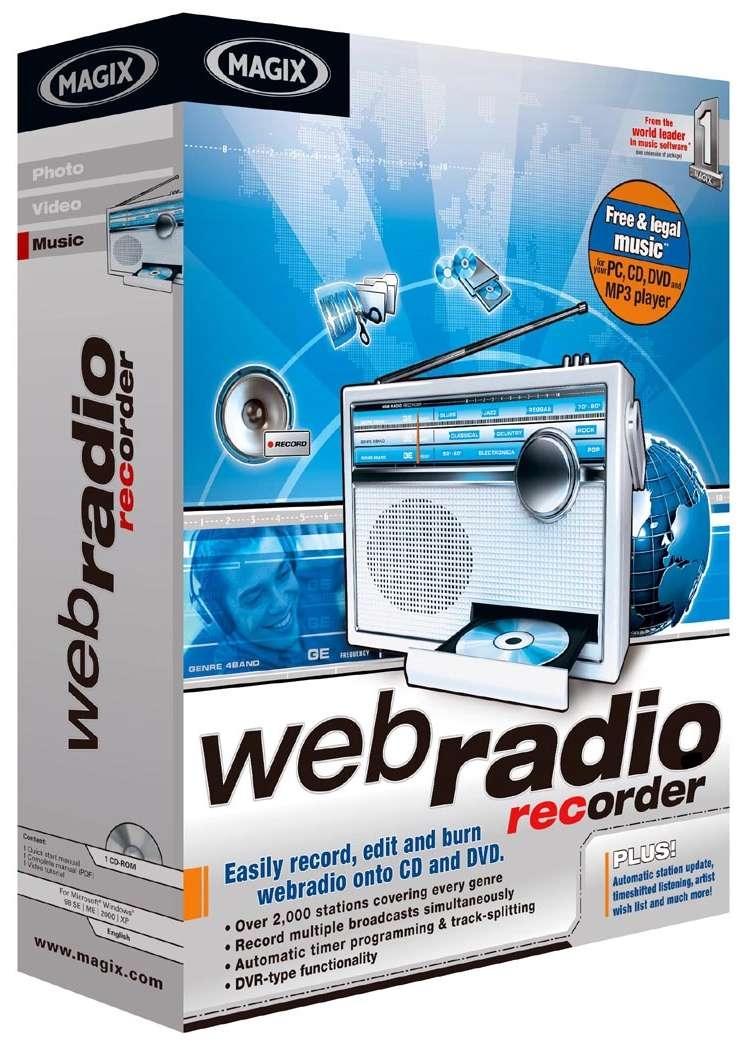 Magix Announces Webradio Recorder High-Quality DVR For Radio