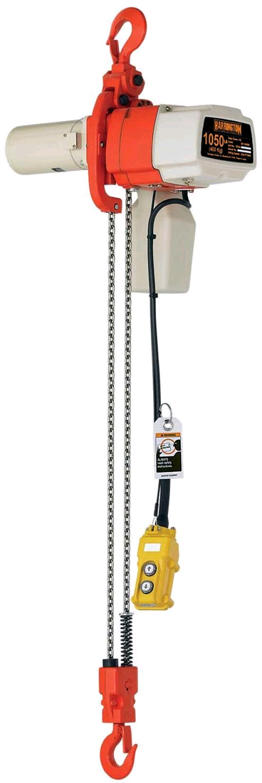 Vestli High Speed Electric Chain Raise, Model&35; Ech&45;ed&45;10&45;1ph