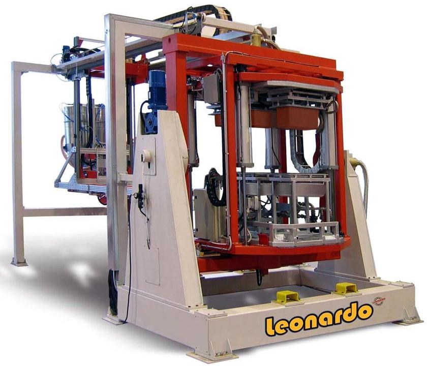 roto molding machine