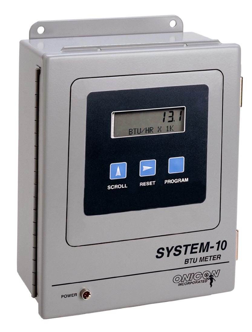 Onicon Incorporated System 10 Btu Meter Is Now Available