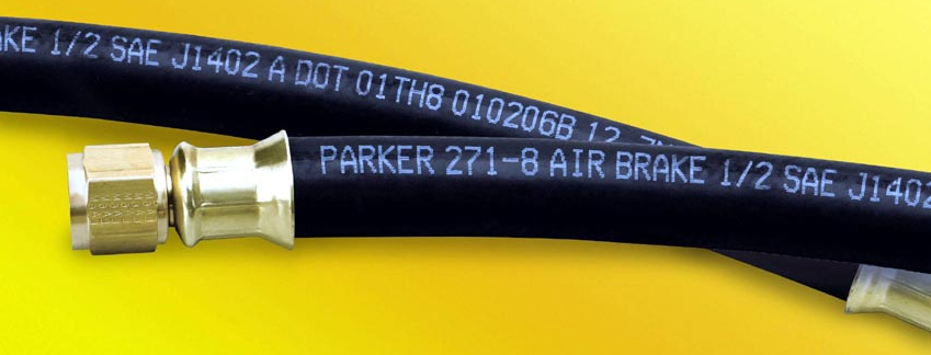 Parker s air brake hose and series crimp fittings