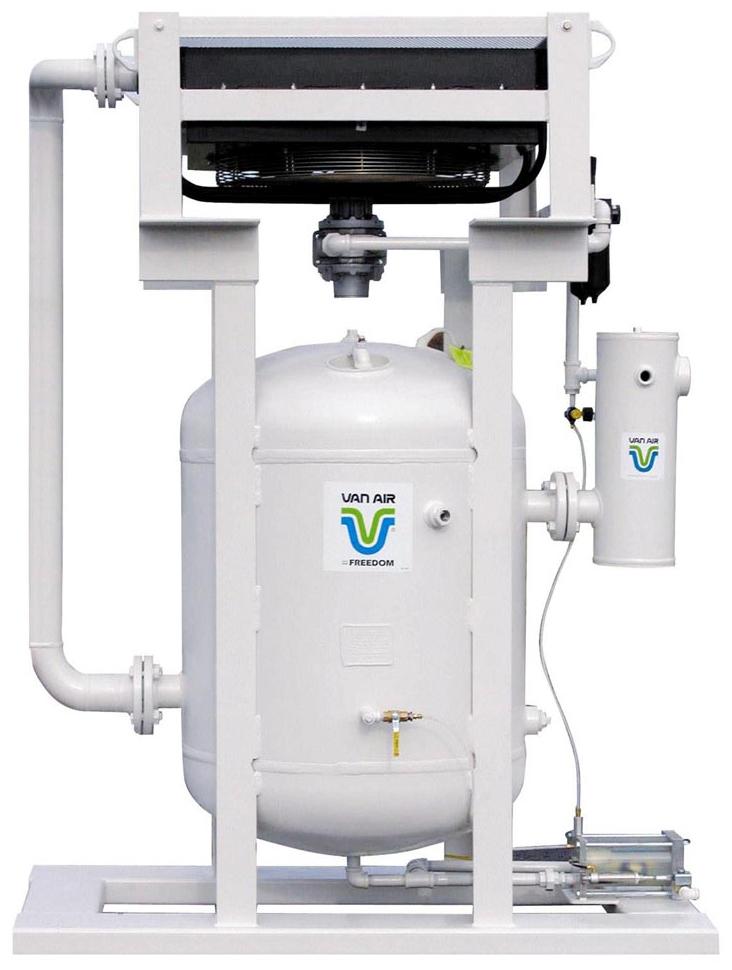 Air Drying Units : Van air systems freedom dryer blast pak drying system